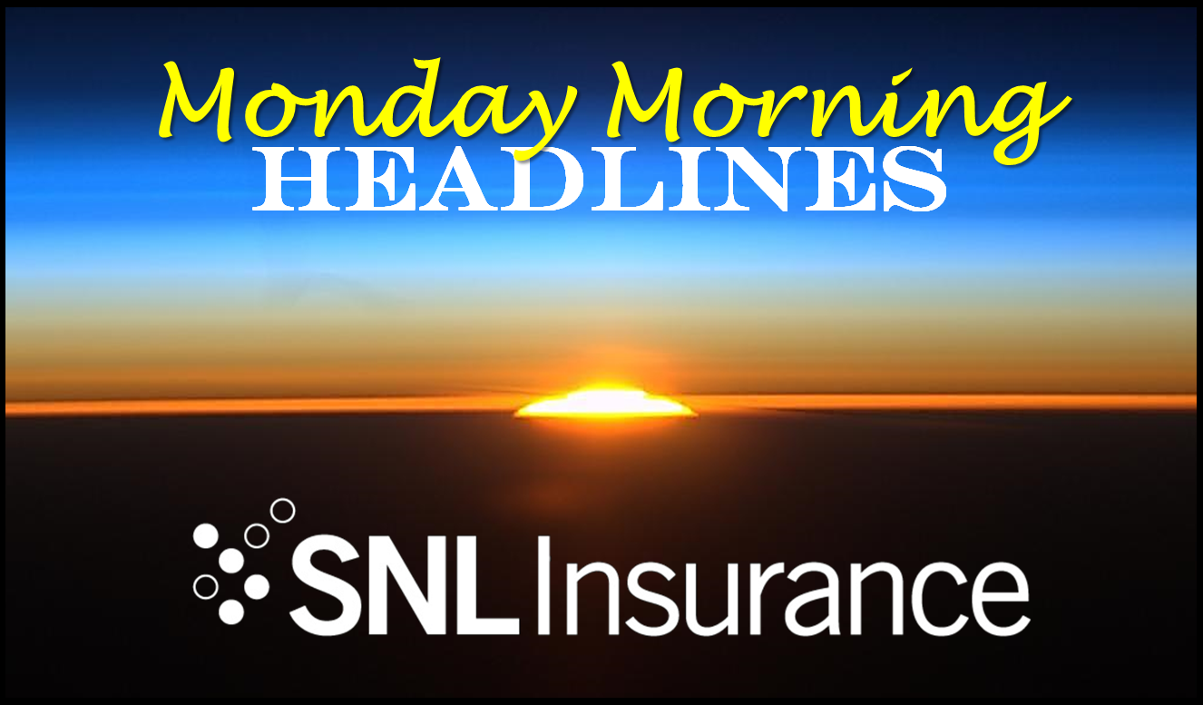 Monday Morning Headlines