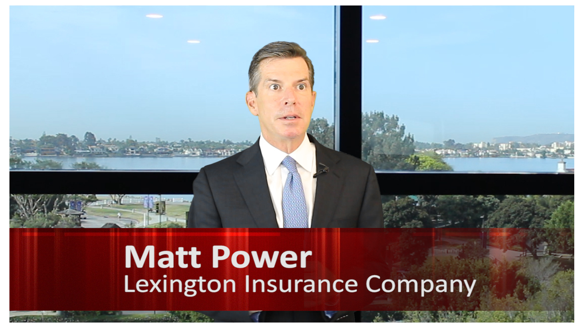 Matt Power - Lexington Insurance