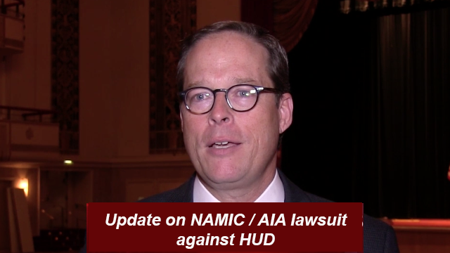 NAMIC/AIA case on HUD Disparate Impact Standard at Supreme Court for ruling in 2014.