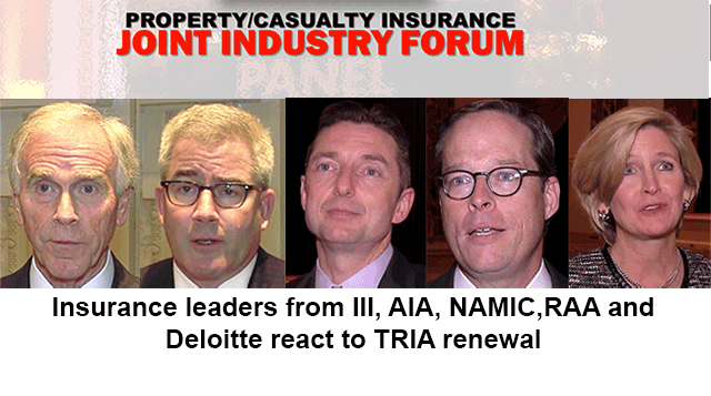 Joint Industry Forum TRIA