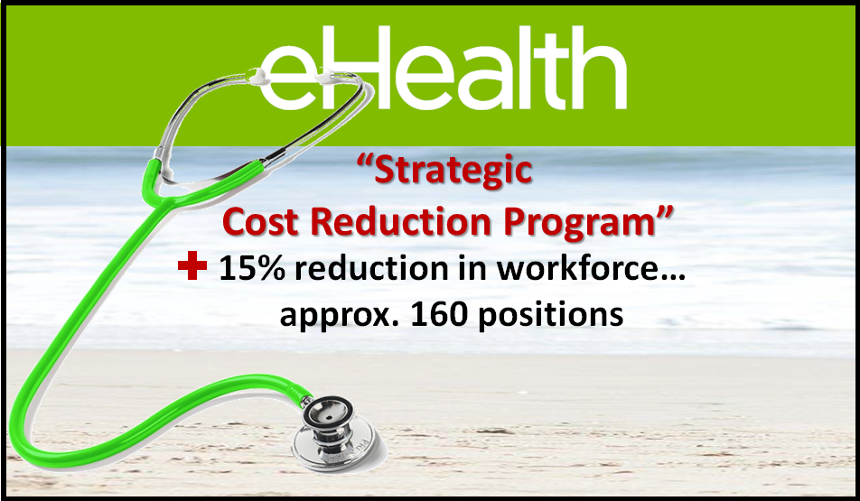 eHealth cuts staff as a result of low membership
