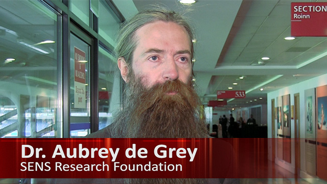 Dr. de Grey, SENS Research Foundation