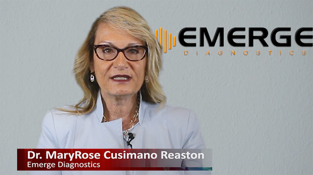 Mary-Rose-Reaston, Emerge Diagnostics
